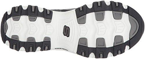 Skechers Sport Uomini D'Lites Oxford, Navy / White