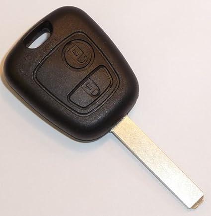 Carcasa para llave con botón de control remoto para Citroen ...