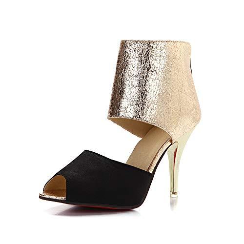 HOESCZS Gute Qualität Große Größe 31-44 Dünne High Heels Sommer Sandalen Schuhe Frauen Party Prom Queen Schuhe,  | eine große Vielfalt