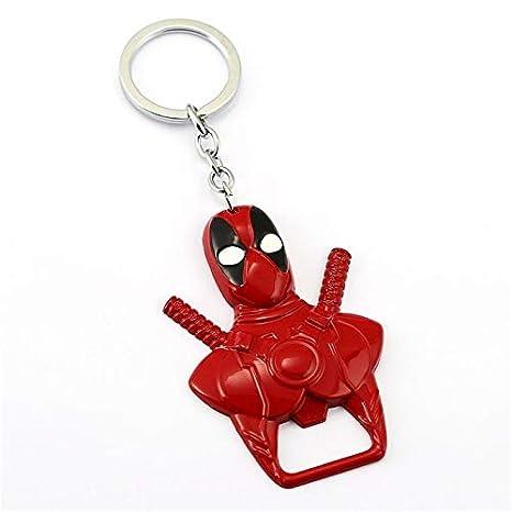 TUDUDU Deadpool 2 Llaveros Wade X-Men Colgante De Metal Llavero ...