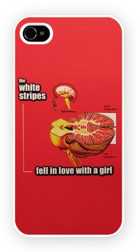 The White Stripes - fell in love with a girl, iPhone 4 4S, Etui de téléphone mobile - encre brillant impression