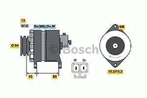 Bosch 6033GB4020 Alternador