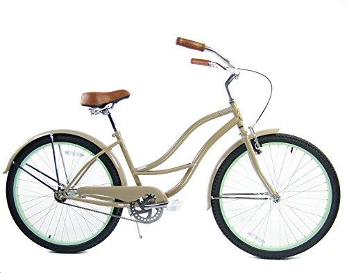Ladies 24 Beach Cruiser - Loco Cycles Single Speed 24