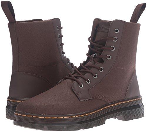 Combs Boots Marron Mens martens 8 Waxy Eyelet Canvas Dr 61BqnxwP