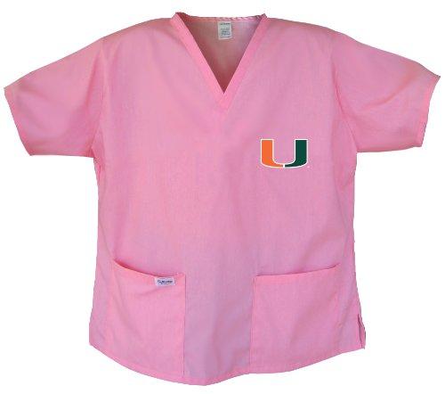 - Ladies University of Miami Shirts Miami Canes Scrubs - Tops for Women