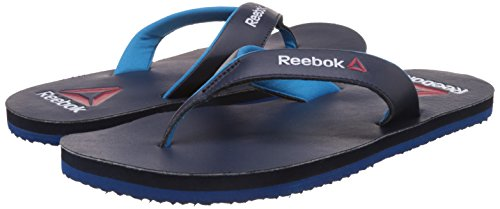 4fc3a7ede2f61f Reebok Men s Advent Coll Navy and Far Out Blue Flip-Flops and House Slippers   Amazon.co.uk  Shoes   Bags