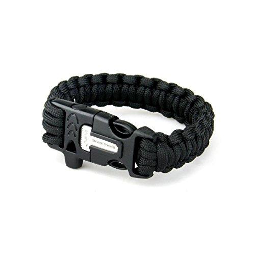 Survival Paracord Bracelet Starter Scraper