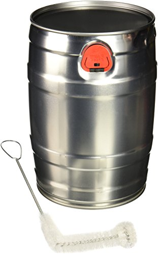 - Mini Keg with Cleaning Brush, 5 L