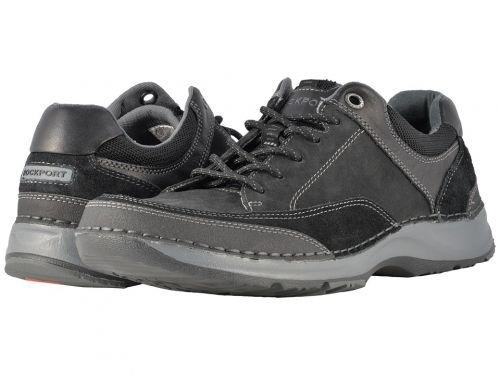 Rockport(ロックポート) メンズ 男性用 シューズ 靴 スニーカー 運動靴 RocSports Lite 5 Lace-Up - Black [並行輸入品] B07BL5L2K1