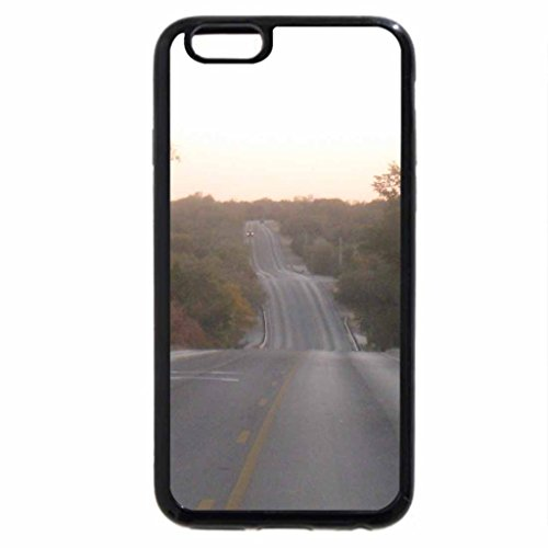 iPhone 6S / iPhone 6 Case (Black) Texas Highway
