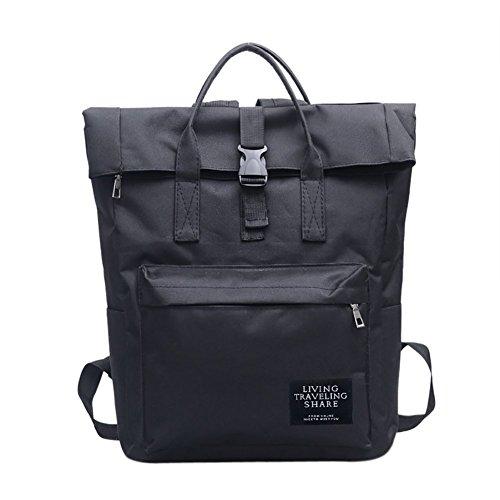 Slendima 15.75'' Large Capacity Unisex Fashion Casual Canvas Backpack,Travel Handbag Shoulder Bag - 3 Colors is Available by Slendima