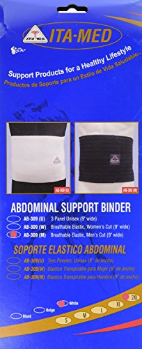 ITA-MED Breathable Elastic Abdominal Binder for Men  - XX-La