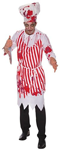 Bristol Novelty AC809 Butcher Bloody Costume, 42-44-Inch -