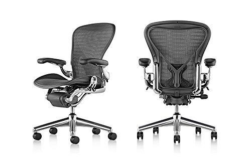 Amazoncom Herman Miller Classic Aeron Task Chair Highly Adj w