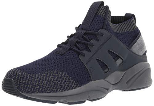 Propet Men's Stability Strider Walking Shoe, Navy, 12 5E US