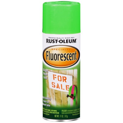 Rust-Oleum 1932830 Spray Paint, 11-Ounce, Fluor Green ()