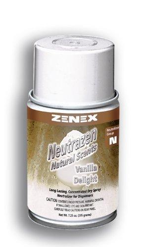 Zenex Neutrazen Vanilla Delight Scent Metered Odor Neutralizer - 12 Cans (Case) by ZENEX International