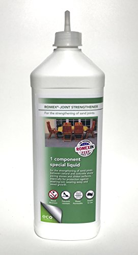 Romex Materials LLC ROMPOX Joint-Strengthener. The No. 1 Joint Stabilizer for Any Sand Joints