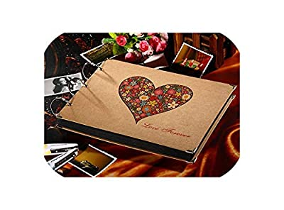 10 Inch Paper DIY Photo Album Family Memory Record Scrapbooking Album Sticky Type for Wedding Party