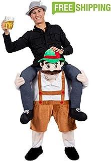 Adult Piggyback Carry Me Ride on Stuffed Beer Man Beer Festival Costume  sc 1 st  Amazon.com & Amazon.com : Zoo Manatee Mascot Costume Cartoon Character Adult Sz ...