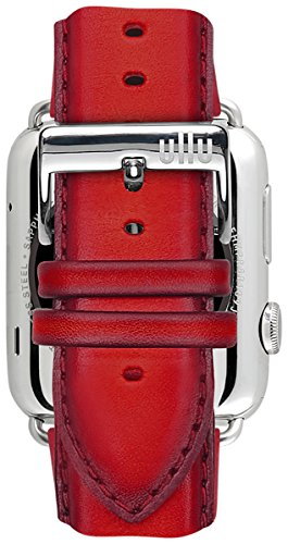 ullu Apple Watch Band for Series 1 & Series 2 in Premium Leather - Bloody Hell - UAWS42SSVT96 by ullu (Image #5)