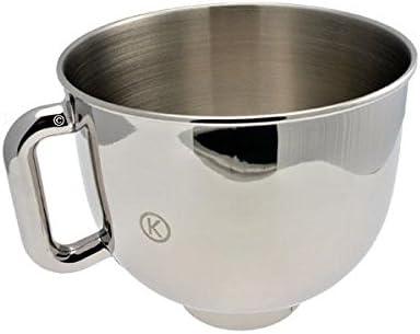 Kenwood KMX50 X3600 – Cuenco acero inoxidable 5L, con asa para robots kMix – Robot de cocina kMix: Amazon.es: Hogar