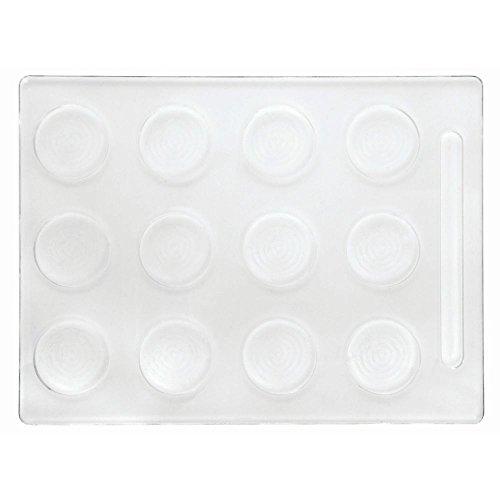 Cupcake Tray, Clear Plastic - 15 3/4 L x 11 3/4 W x 3/8 H