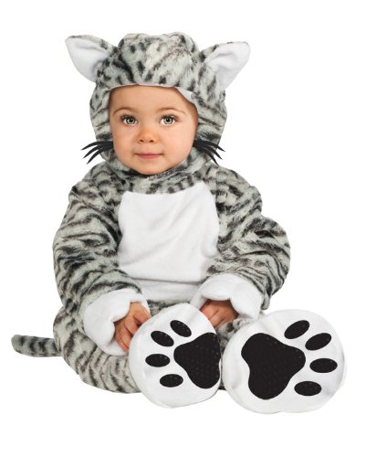Rubie's Costume Cuddly Jungle Kit Cat Cutie Romper Costume