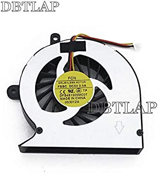 DBTLAP Ordenador portátil CPU Ventilador for Toshiba Satellite L830 DFS481305MC0T FBBC Mf60090v1-c500-g99 Ordenador portátil CPU Enfriador Ventilador enfriamiento: Amazon.es: Electrónica