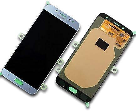 Samsung Galaxy J7 SM de j730 F Plata/Silver Módulo Display + ...