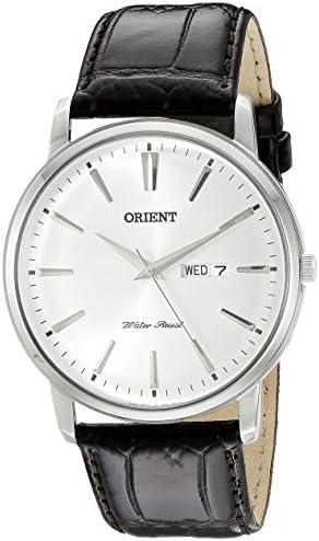 Orient Men s FUG1R003W0 Capital Analog-Display Japanese Quartz Brown Watch
