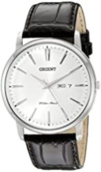 Orient Men's FUG1R003W0 Capital Analog-Display Japanese Quartz Brown Watch