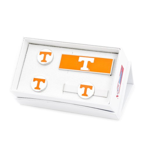 NCAA Mens Tennessee Volunteers 3-Piece Gift Set by