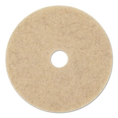 Premiere Pads PAD 4019 NHE Ultra High Speed Natural Hair Ebytra Floor Pad, 19'' Diameter (Case of 5)