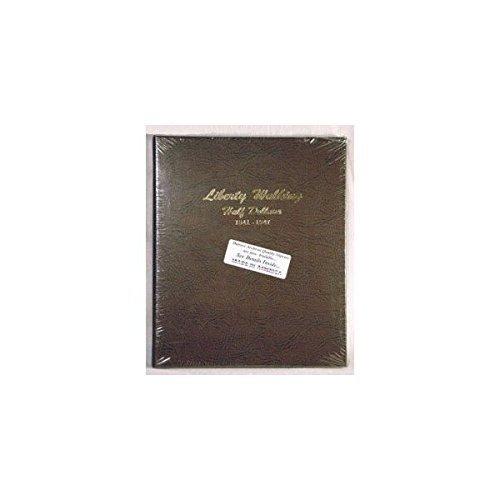 Dansco Coin Album # 7161 For Liberty Walking Half Dollars From 1941-1947 NEW!!