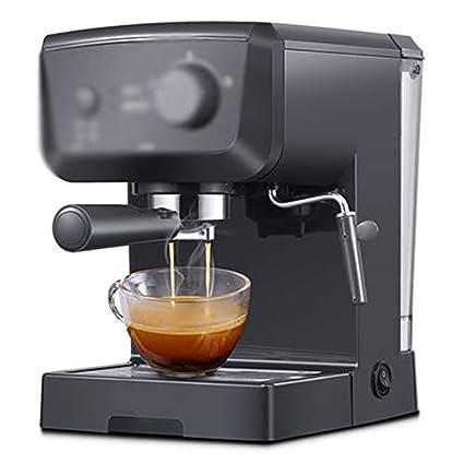 LJHA kafeiji Máquina de café Espresso, máquina de café con Filtro Tipo Bomba, máquina