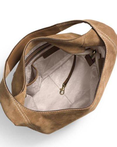 a2b2bdb3b8b7 MICHAEL MICHAEL KORS Lena Large Leather Shoulder Bag (Desert ...