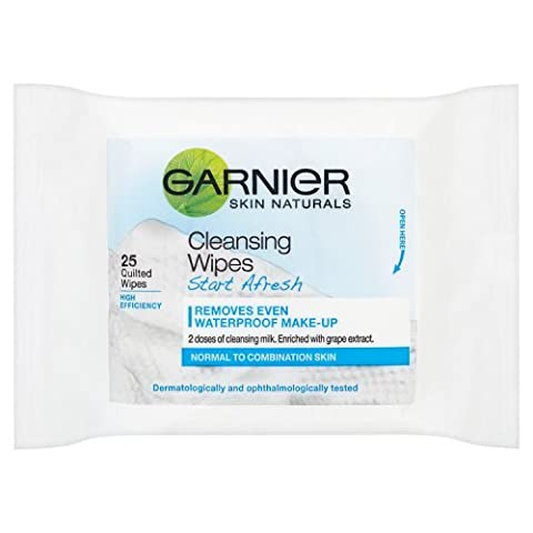 Garnier Skin Naturals Start Afresh Complete Cleansing Wipes (Cucina Wipe)
