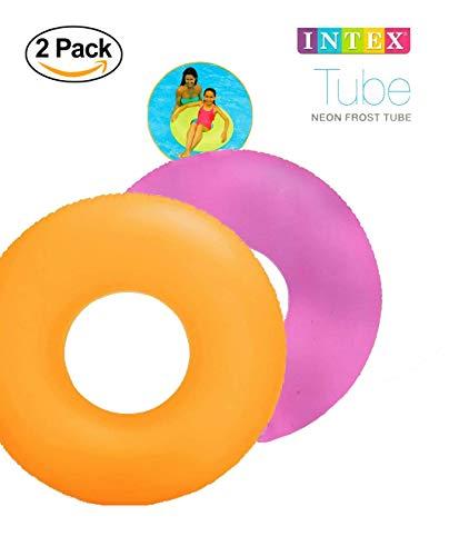 Intex Frost Tube Inflatable Sturdy Swim Pool, 36