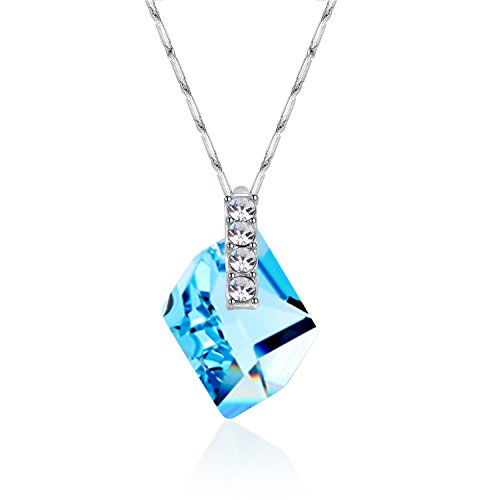 Collocation-Online Imported Austrian high-Grade Crystal Wish Stone Necklace Ladies Accessories