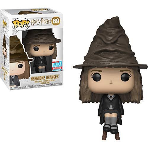 Funko Hermione Granger (2018 Fall Con Exclusive): Harry Potter x POP! Vinyl Figure & 1 PET Plastic Graphical Protector Bundle [#069 / 34764] ()