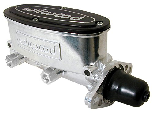 NEW WILWOOD POLISHED ALUMINUM TANDEM CHAMBER MASTER CYLINDER, DUAL OUTLET, 1'' BORE, SOUTHWEST SPEED by Southwest Speed