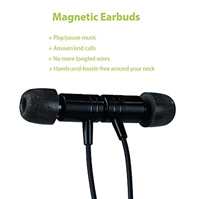ISOtunes Noise Isolating Bluetooth Earbuds, 26 dB Noise Reduction Rating, 4 Hour Battery, Noise Cancelling Mic, OSHA Compliant Earplug Headphones