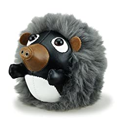 Zuny Cicci Series Paperweight Hedgehog Black Animal Bookend