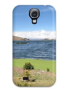 Hard Plastic Galaxy S4 Case Back Cover,hot Titicaca Lake Case At Perfect Diy