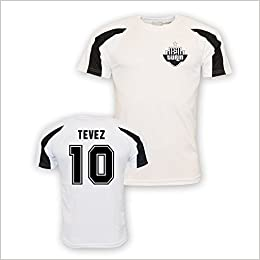 new product 4187b fb208 Carlos Tevez Juventus Sports Training Jersey (white) - Kids ...