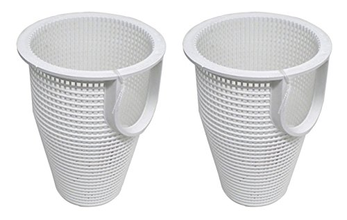 2) Pentair 070387 IntelliFlo WhisperFlo Pool Pump Strainer Basket Replacements (Pentair Whisperflo Basket Pump)