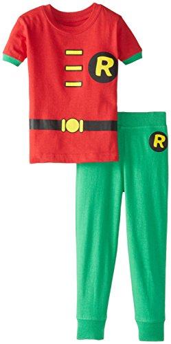 DC-Comics-Baby-Boys-Short-Sleeve-LL-Robin-2-Piece-Cotton-Infant