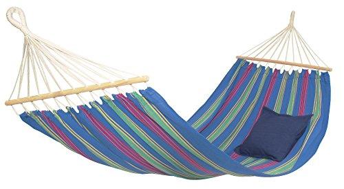 Byer of Maine Aruba Outdoor Hammock, Woven from Weather-Resistant EllTex Polyester/Cotton Blend, Single Sizet EllTex Polyester/Cotton Blend, Single/Twin Size, Juniper ()
