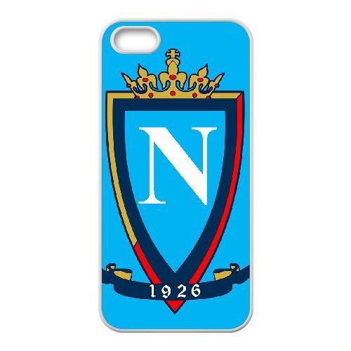 Napoli 009 coque iPhone 4 4S Housse Blanc téléphone portable couverture de cas coque EOKXLKNBC22366